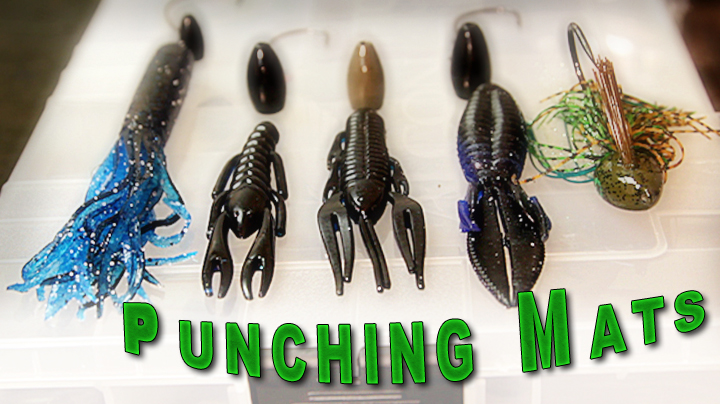 Live 2 Fish PUNCHING GRASS MATS: HIT LIKE A HEAVYWEIGHT Articles Gear Rigging Video  tournament fishing gambler lures fishing lure bass fishing techniques Bass fishing tackle bass fishing