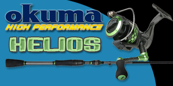 Live 2 Fish The All New Okuma Helios A First Look Gear Reviews Video  Video Okuma Fishing Rods Fishing Reel