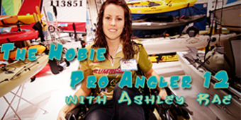 Live 2 Fish The Hobie Pro Angler 12 with Ashley Rae A First Look Boats Reviews Video  hobbie Fishing Boats Ashley Rae