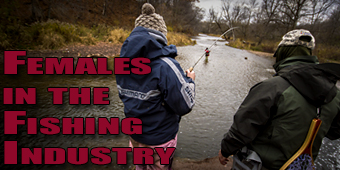 Live 2 Fish Females in the Fishing Industry Articles  Women in Fishing Fishing Industry Fishing Amy Nesbitt