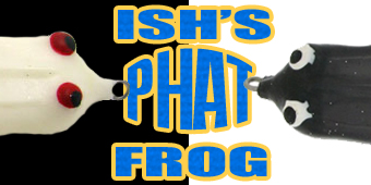 Live 2 Fish Ish's Phat Frog From Snag Proof Reviews Tackle  Snag Proof Ish Monroe frog fishing Fishing bass fishing bass