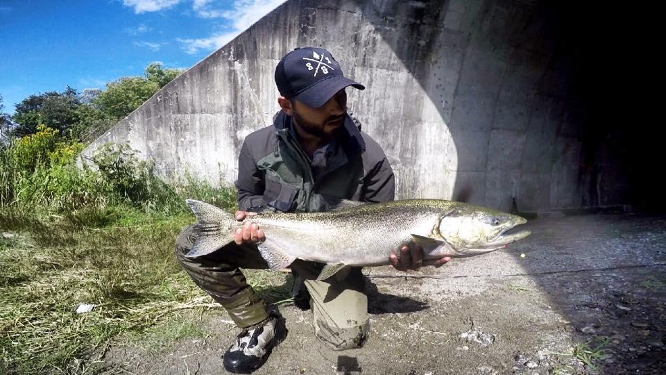 Jordan with a big King Salmon